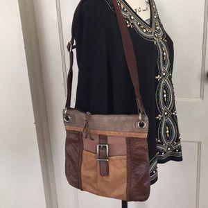 The SAK crossbody leather bag